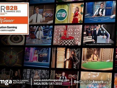 Voor het 12e jaar op rij wint Evolution de Live Casino Supplier of the Year Award op de EGR