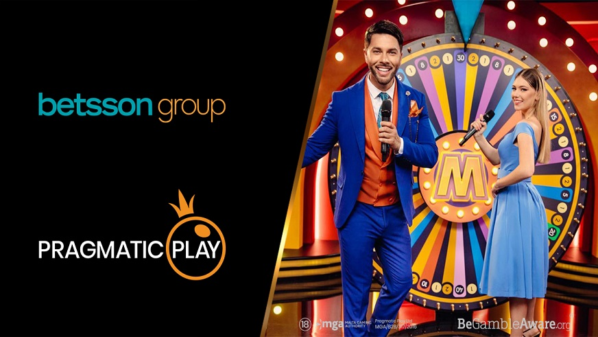 Pragmatic Play and Betsson Expand Their Partnership Deal with Live Casino Offering
