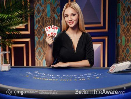 Pragmatic Play Adds 10 New Blackjack Azure Tables
