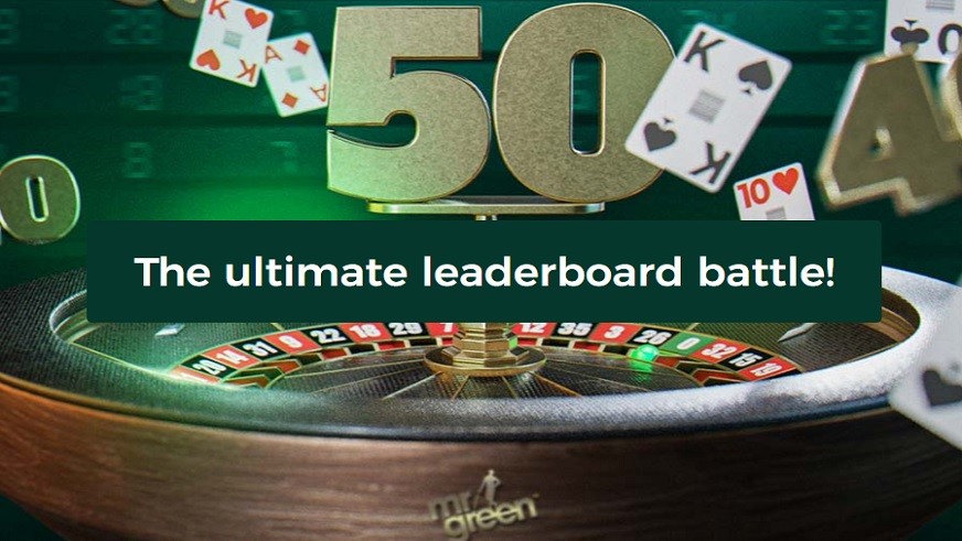 Be Among the Participants in the Ultimate Live Roulette Battle at Mr Green and Win a Share of €5,000!