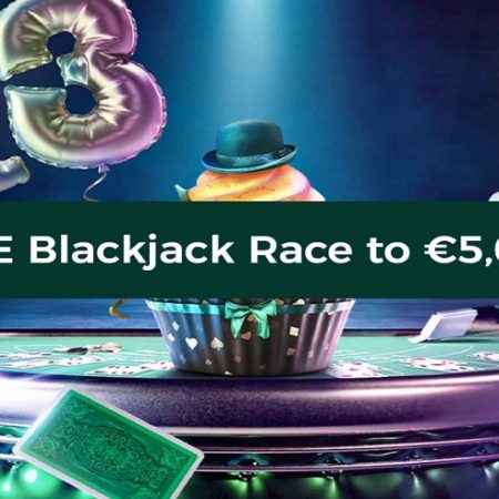 Mr Green Is Celebrating Its Birthday with a Special €5,000 Live Blackjack Race