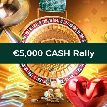 Be the First on the Finish Line and Win a Share of the €5,000 Cash Rally at Mr Green