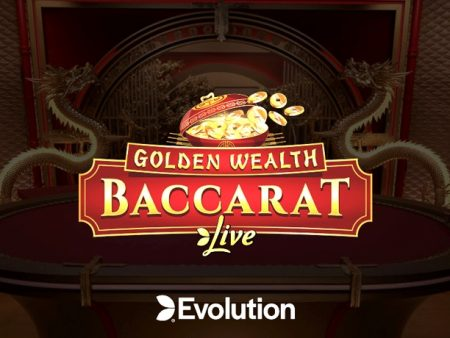 Evolution Gaming Shares a Sneak Peek of Its Latest Game, Golden Wealth Baccarat