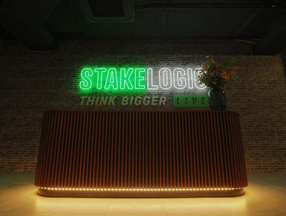 Stakelogic Live Unveils New Live Dealer Studio & New Website
