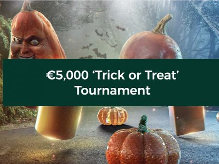 Join the €5,000 Trick or Treat Tournament at Mr Green This Halloween!